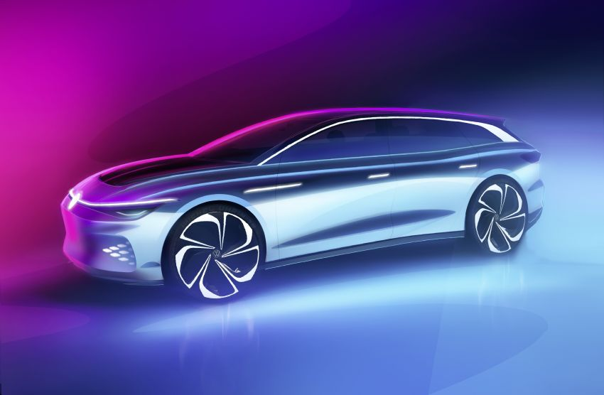 Volkswagen ID. Space Vizzion wagon set for LA debut Image #1043557