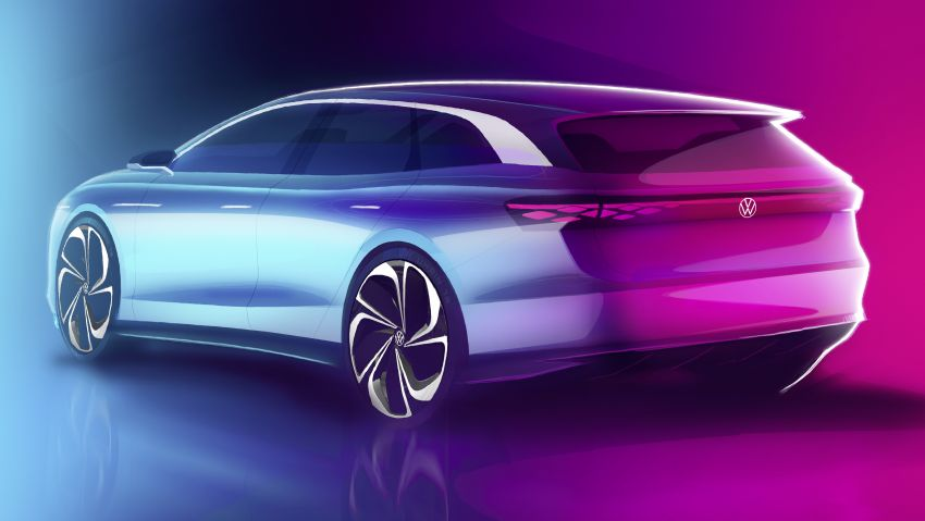 Volkswagen ID. Space Vizzion wagon set for LA debut Image #1043558