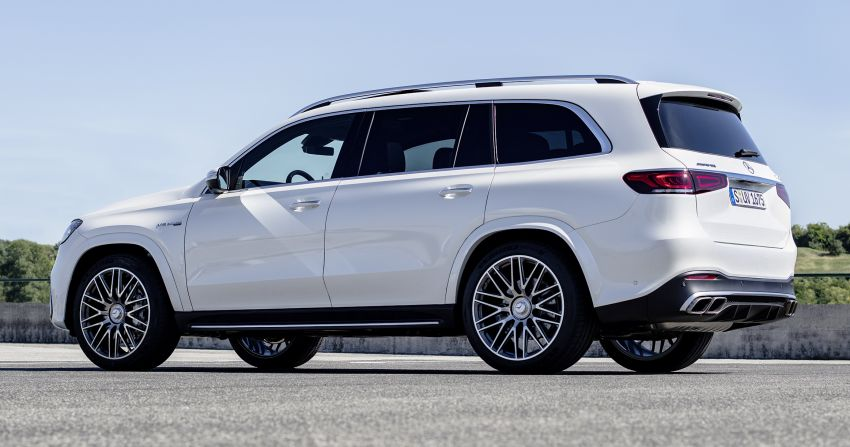X167 Mercedes-AMG GLS63 shown – 612 PS monster with mild hybrid tech, seven seats, 0-100 km/h 4.2 secs Image #1049545