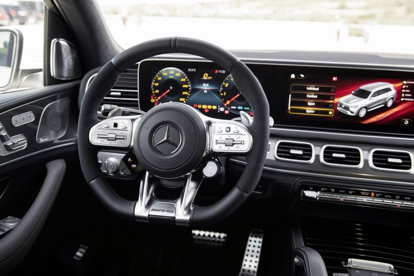 X167 Mercedes-AMG GLS63 shown – 612 PS monster with mild hybrid tech, seven seats, 0-100 km/h 4.2 secs Image #1049546