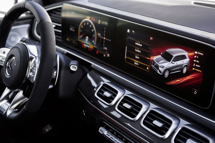 X167 Mercedes-AMG GLS63 shown – 612 PS monster with mild hybrid tech, seven seats, 0-100 km/h 4.2 secs Image #1049550