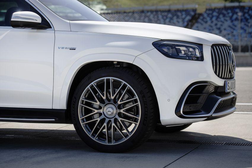 X167 Mercedes-AMG GLS63 shown – 612 PS monster with mild hybrid tech, seven seats, 0-100 km/h 4.2 secs Image #1049537