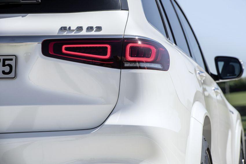 X167 Mercedes-AMG GLS63 shown – 612 PS monster with mild hybrid tech, seven seats, 0-100 km/h 4.2 secs Image #1049539