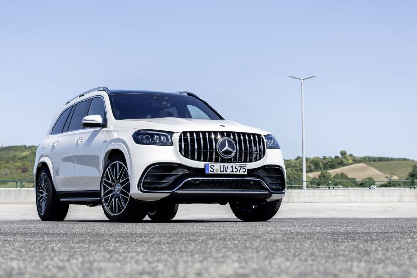 X167 Mercedes-AMG GLS63 shown – 612 PS monster with mild hybrid tech, seven seats, 0-100 km/h 4.2 secs Image #1049541