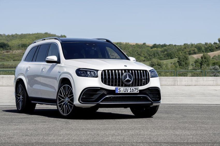 X167 Mercedes-AMG GLS63 shown – 612 PS monster with mild hybrid tech, seven seats, 0-100 km/h 4.2 secs Image #1049542