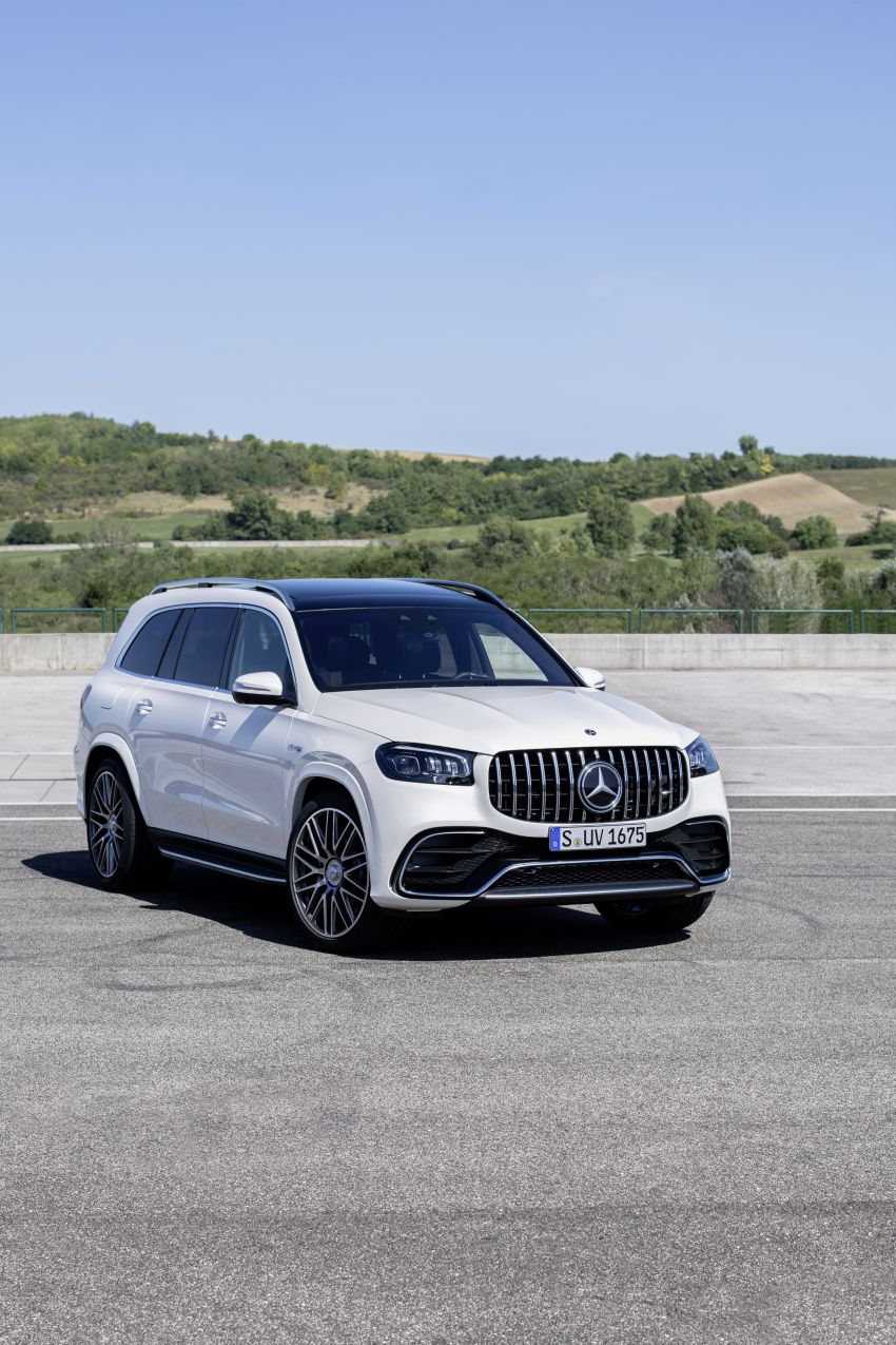X167 Mercedes-AMG GLS63 shown – 612 PS monster with mild hybrid tech, seven seats, 0-100 km/h 4.2 secs Image #1049543
