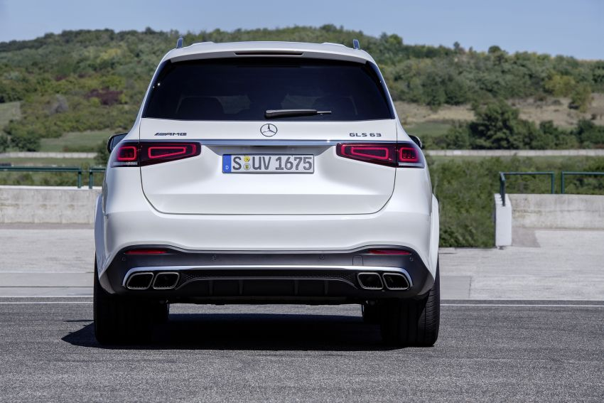 X167 Mercedes-AMG GLS63 shown – 612 PS monster with mild hybrid tech, seven seats, 0-100 km/h 4.2 secs Image #1049544