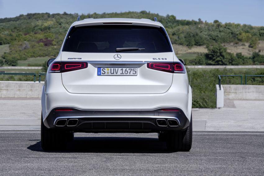 Mercedes-AMG GLS63 X167 ditunjukkan – 612 PS, teknologi <em>mild hybrid</em>, 7-tempat duduk, 0-100 km/j 4.2s Image #1049945