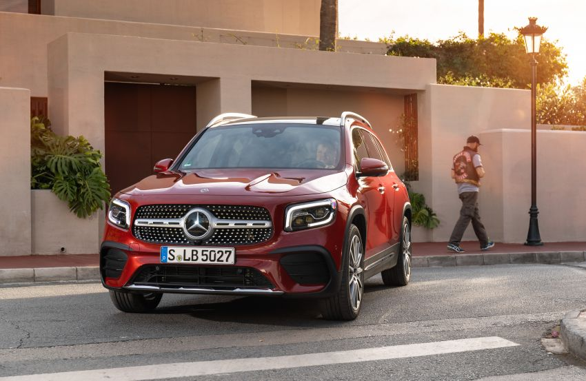 X247 Mercedes-Benz GLB coming to Malaysia in 2020 – all you need to know about the 7-seat compact SUV Image #1051972