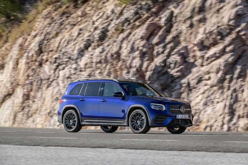 X247 Mercedes-Benz GLB coming to Malaysia in 2020 – all you need to know about the 7-seat compact SUV Image #1052003