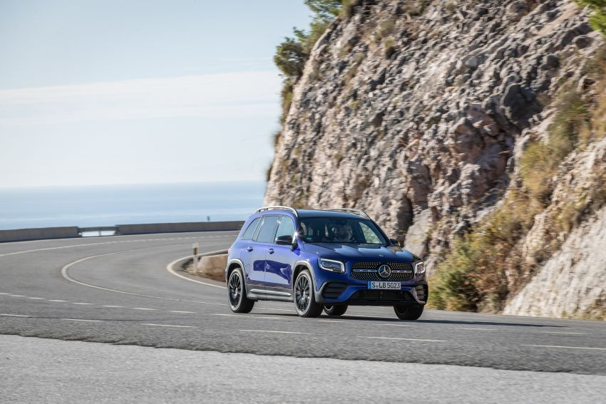 X247 Mercedes-Benz GLB coming to Malaysia in 2020 – all you need to know about the 7-seat compact SUV Image #1052004