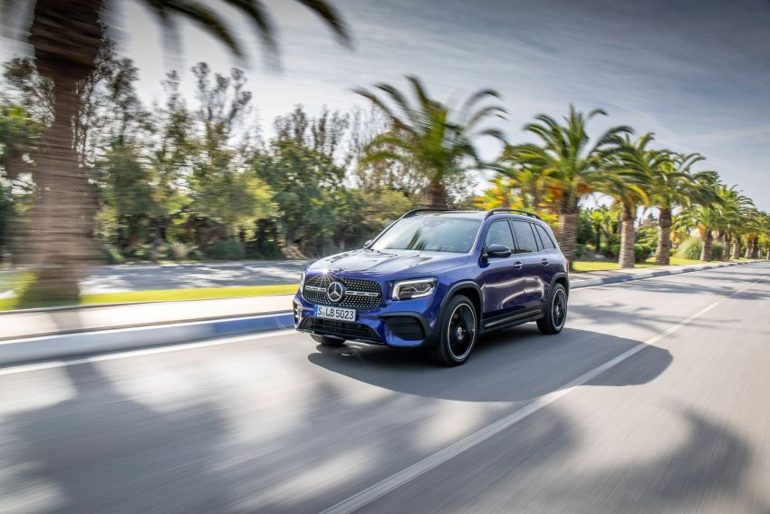 X247 Mercedes-Benz GLB coming to Malaysia in 2020 – all you need to know about the 7-seat compact SUV Image #1052011
