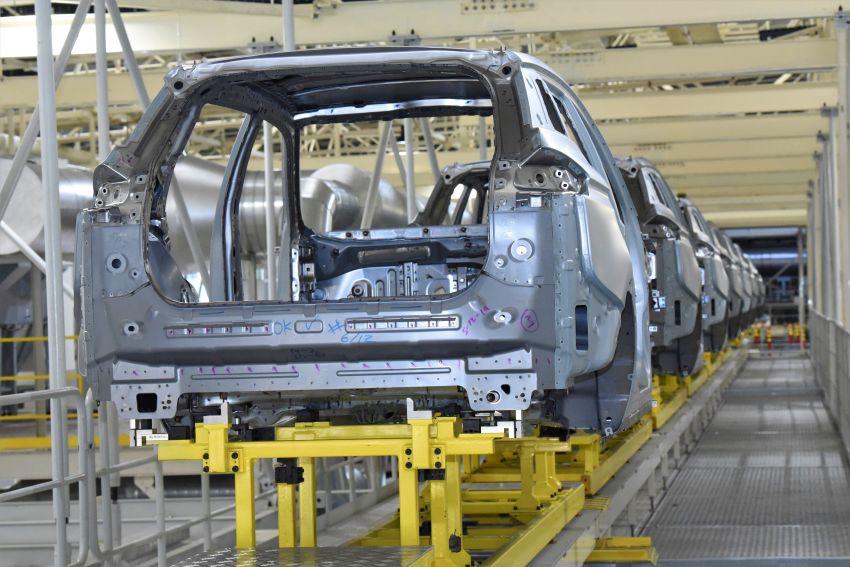 Produksi Proton X70 CKD di Tanjung Malim bermula – turut akan dieksport ke pasaran luar seperti UK Image #1059791