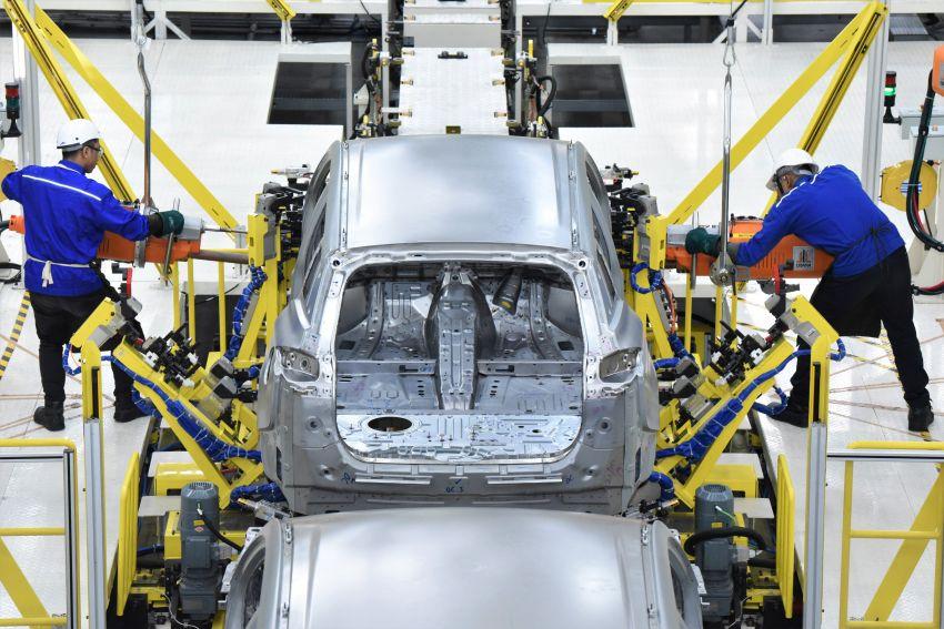 Produksi Proton X70 CKD di Tanjung Malim bermula – turut akan dieksport ke pasaran luar seperti UK Image #1059795