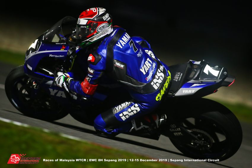 2019 FIM EWC Sepang: YART Yamaha takes inaugural race win, Yamaha Sepang Racing in seventh Image #1060200