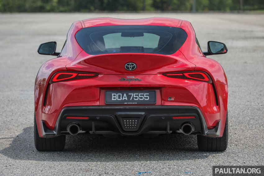 FIRST DRIVE: 2020 A90 Toyota GR Supra – RM568,000 Image #1056956