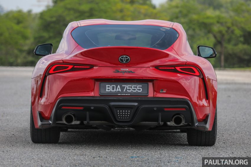 FIRST DRIVE: 2020 A90 Toyota GR Supra – RM568,000 Image #1056957