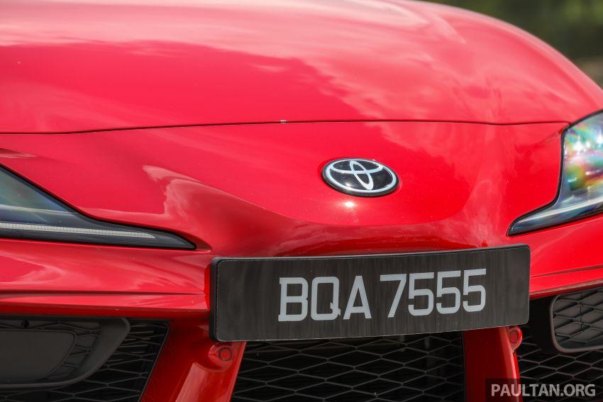 GALERI: Toyota Supra A90 2019 untuk pasaran M'sia Image #1057076