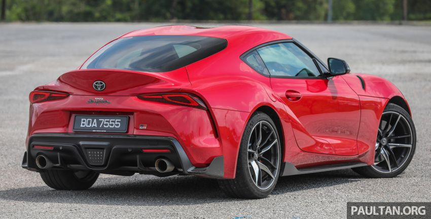 FIRST DRIVE: 2020 A90 Toyota GR Supra – RM568,000 Image #1056948