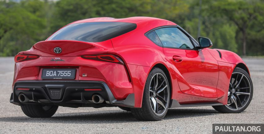 FIRST DRIVE: 2020 A90 Toyota GR Supra – RM568,000 Image #1056949