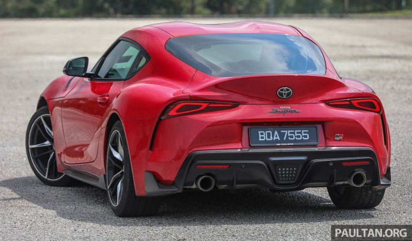 FIRST DRIVE: 2020 A90 Toyota GR Supra – RM568,000 Image #1056950