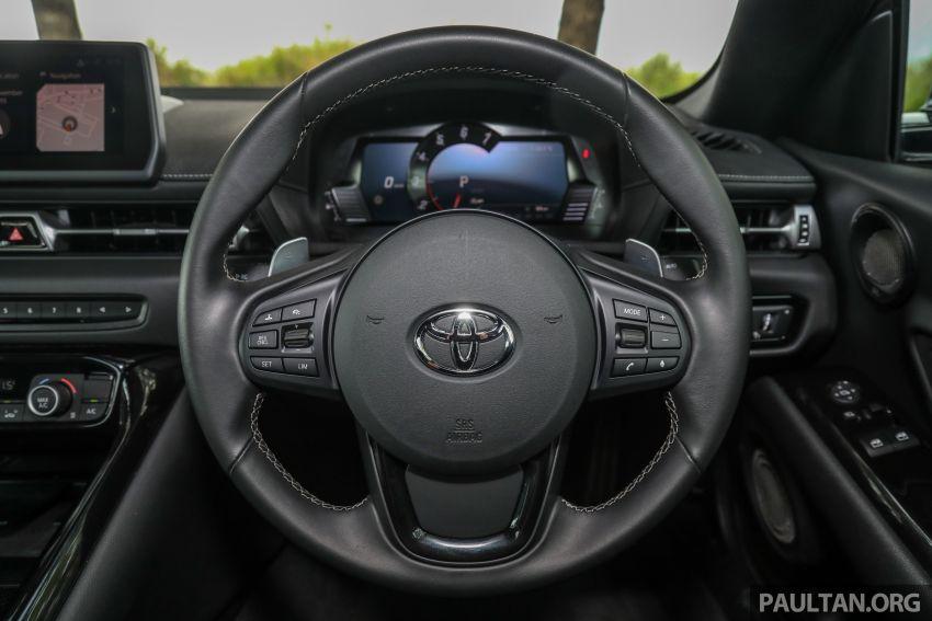 GALERI: Toyota Supra A90 2019 untuk pasaran M'sia Image #1057100
