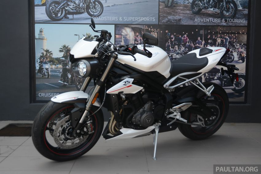 REVIEW: 2020 Triumph Street Triple 765RS naked sports – more of the same, but better, at RM67,900 Image #1054578