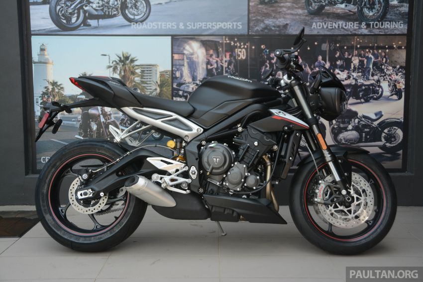 REVIEW: 2020 Triumph Street Triple 765RS naked sports – more of the same, but better, at RM67,900 Image #1054604
