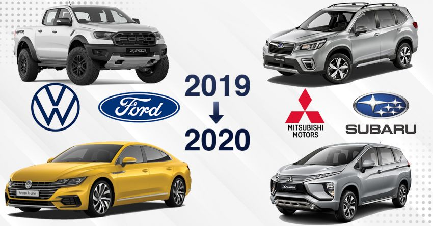 2019 year in review and what's to come in 2020 – Ford, Isuzu, Mitsubishi, Subaru and Volkswagen in Malaysia Image #1063133