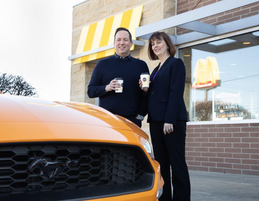 Ford turns McDonald's coffee waste into headlights Image #1056564