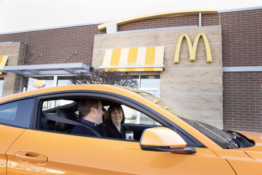 Ford turns McDonald's coffee waste into headlights Image #1056565