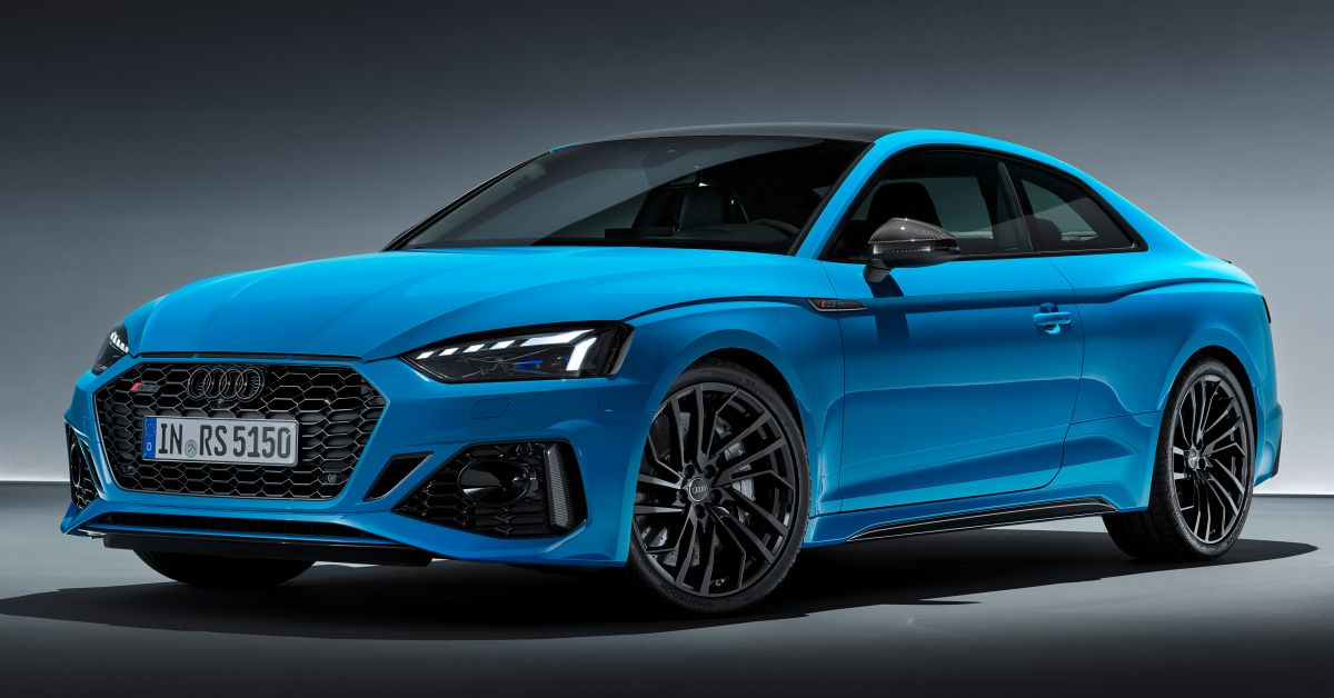 2020 Audi Rs5 Coupe Sportback Facelift Debut 2 9l V6 Tfsi 450 Hp 600 Nm Minor Upgrades Overall Paultan Org