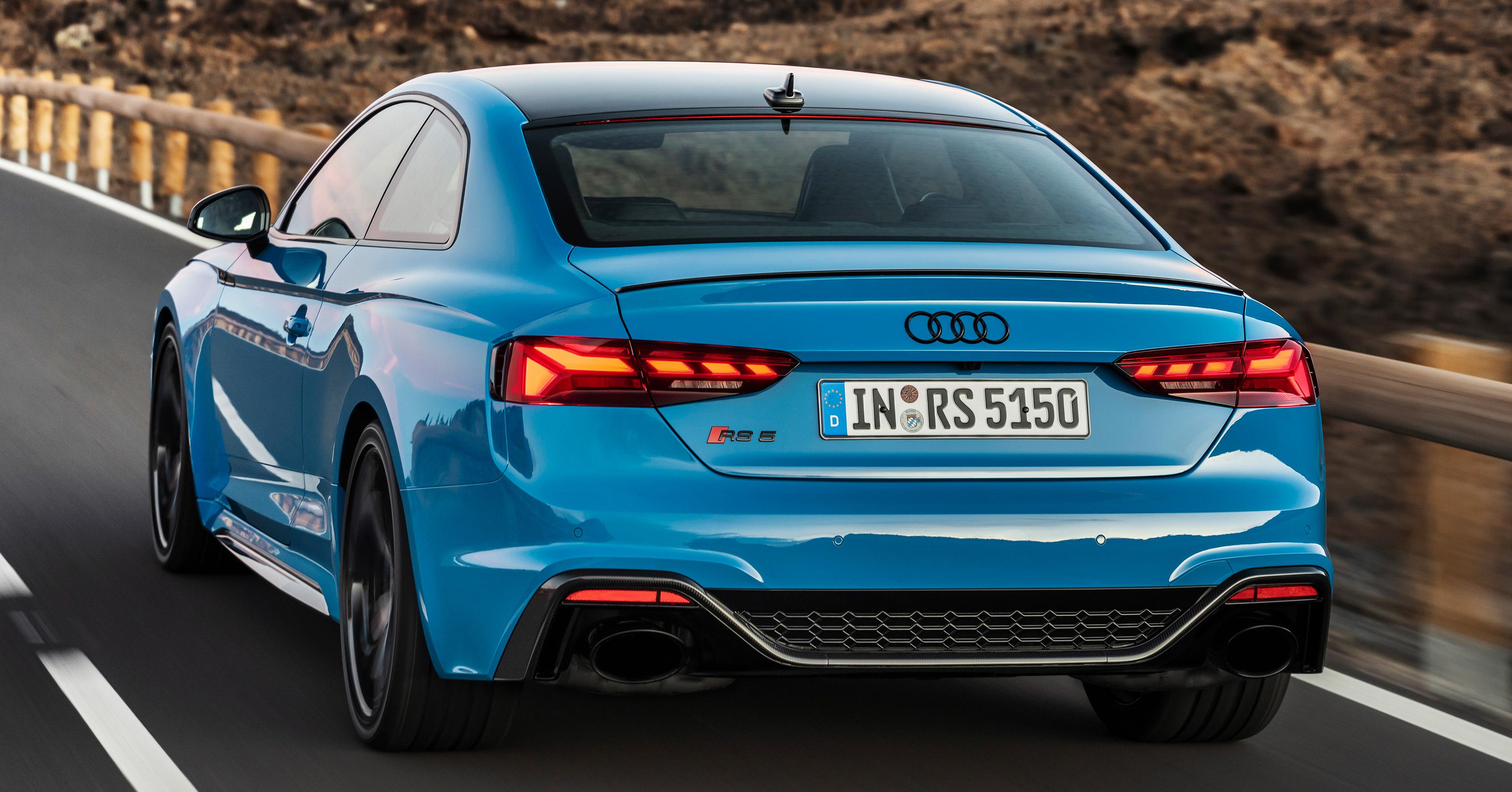 2020 Audi RS5 Coupe, Sportback facelift debut - 2.9L V6 TFSI, 450 hp & 600 Nm; minor upgrades ...