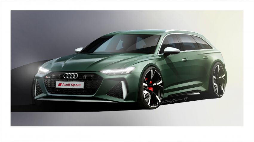 GALLERY: 2020 Audi RS6 Avant – the beast in detail Image #1056274
