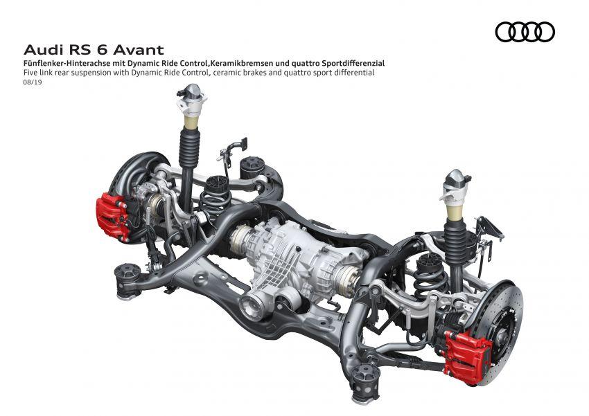 GALLERY: 2020 Audi RS6 Avant – the beast in detail Image #1056294