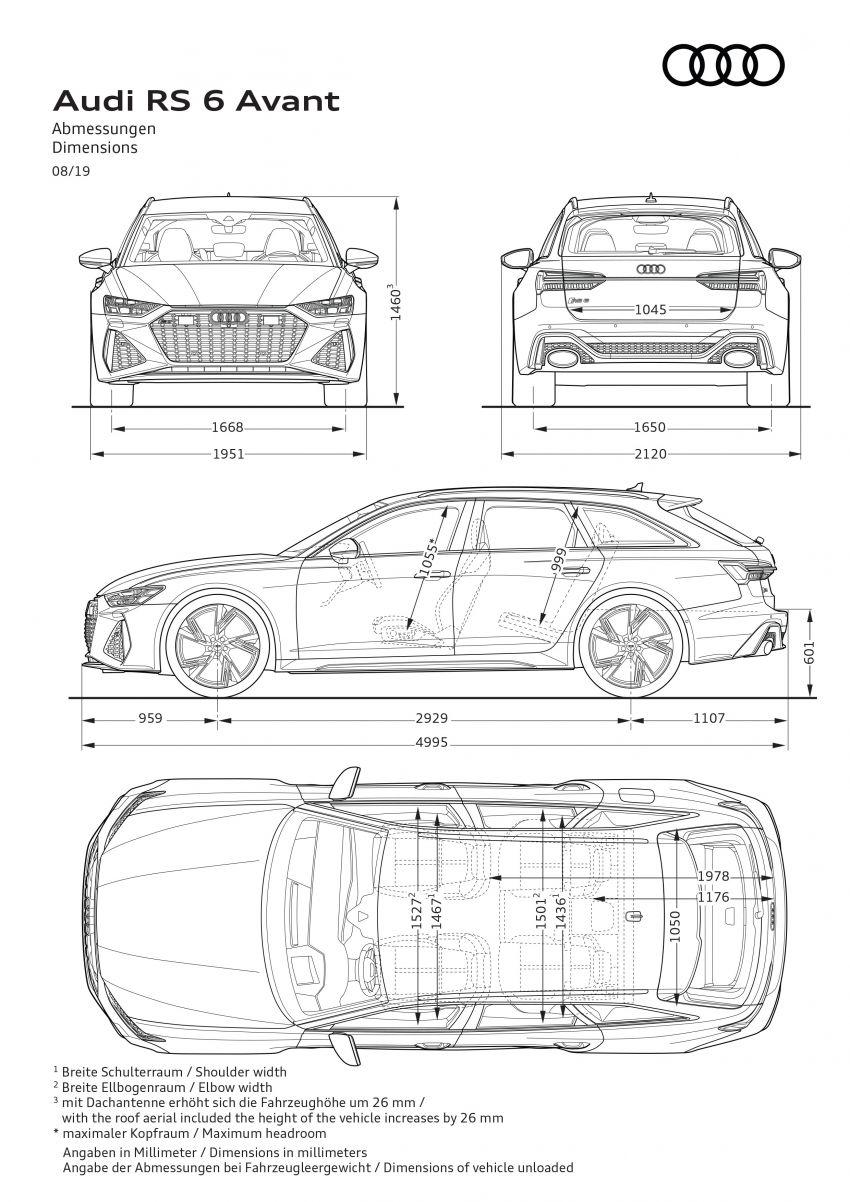 GALLERY: 2020 Audi RS6 Avant – the beast in detail Image #1056276