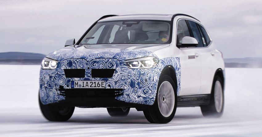 BMW iX3 first model to get fifth-gen BMW eDrive tech – compact drive unit, 74 kWh battery, over 440 km range Image #1061627