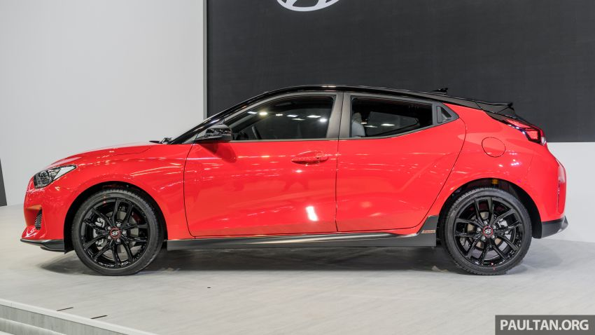 GALLERY: 2020 Hyundai Veloster Turbo previewed at Thailand Motor Expo – 1.6L turbo engine with 201 hp Image #1054935