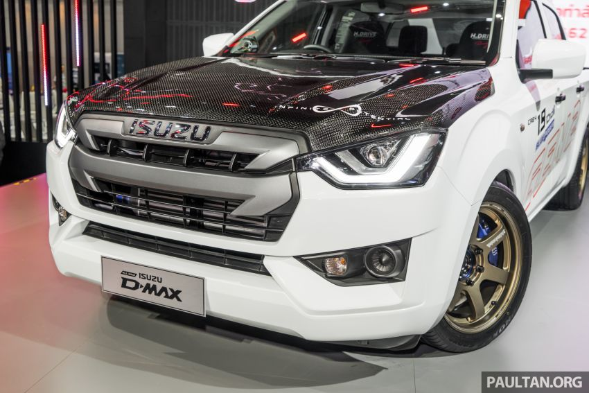 GALLERY: Modified Isuzu D-Max at Thai Auto Expo '19 Image #1055122