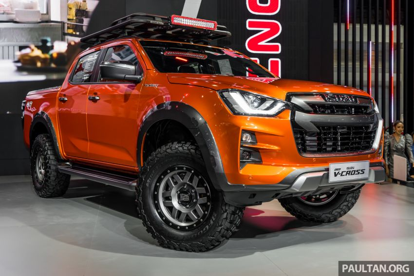 GALLERY: Modified Isuzu D-Max at Thai Auto Expo '19 Image #1055152