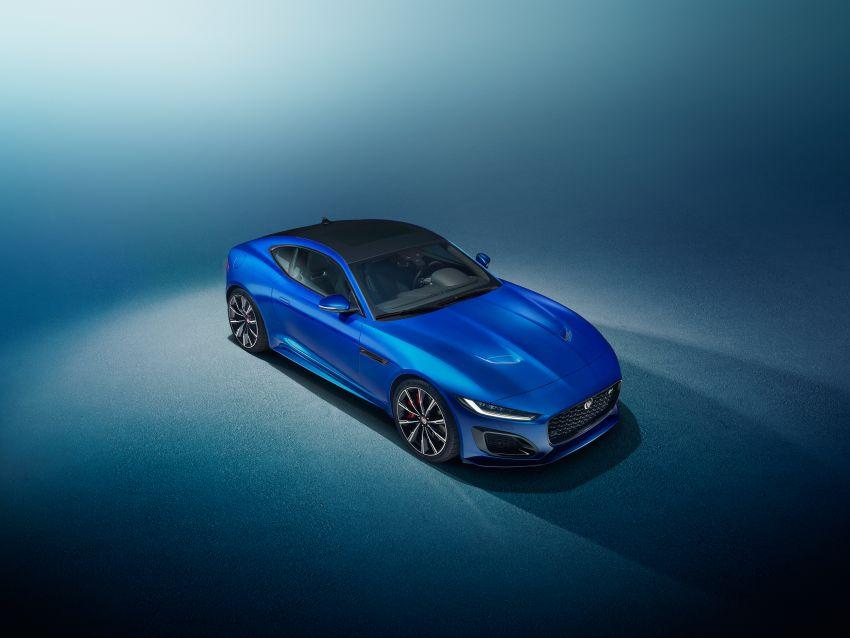 2020 Jaguar F-Type Coupe, Convertible facelift debut – 5.0L V8 RWD returns, improved tech; fr RM292k in UK Image #1055251