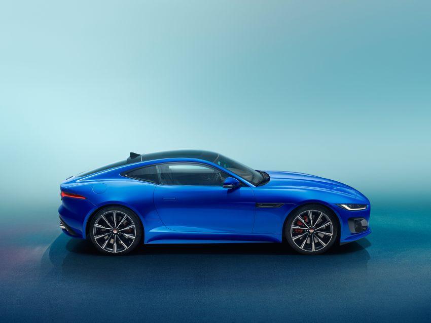 2020 Jaguar F-Type Coupe, Convertible facelift debut – 5.0L V8 RWD returns, improved tech; fr RM292k in UK Image #1055252