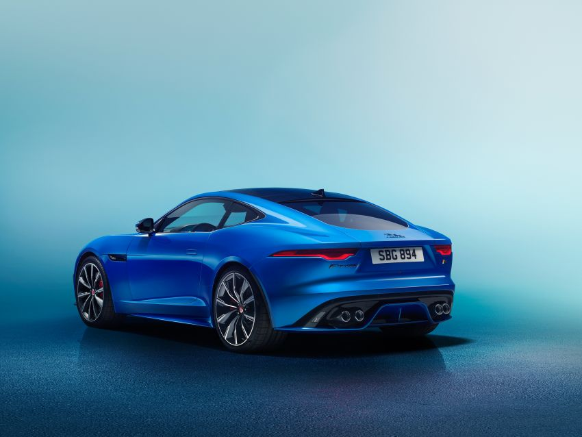 2020 Jaguar F-Type Coupe, Convertible facelift debut – 5.0L V8 RWD returns, improved tech; fr RM292k in UK Image #1055253