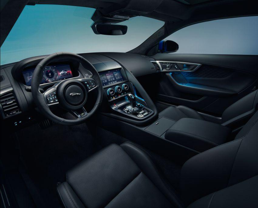 2020 Jaguar F-Type Coupe, Convertible facelift debut – 5.0L V8 RWD returns, improved tech; fr RM292k in UK Image #1055254