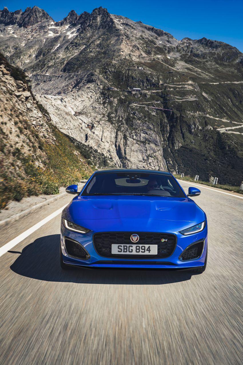 2020 Jaguar F-Type Coupe, Convertible facelift debut – 5.0L V8 RWD returns, improved tech; fr RM292k in UK Image #1055260