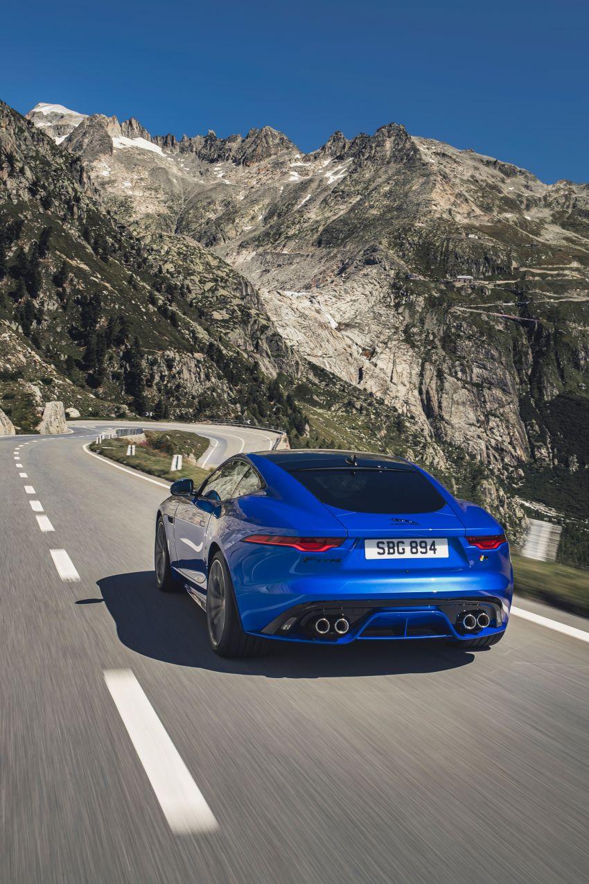 2020 Jaguar F-Type Coupe, Convertible facelift debut – 5.0L V8 RWD returns, improved tech; fr RM292k in UK Image #1055261