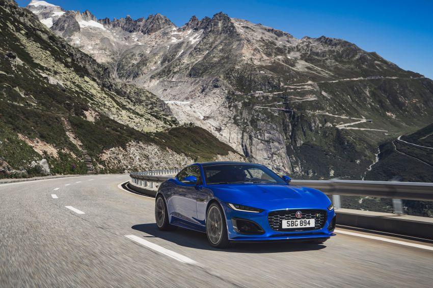 2020 Jaguar F-Type Coupe, Convertible facelift debut – 5.0L V8 RWD returns, improved tech; fr RM292k in UK Image #1055262