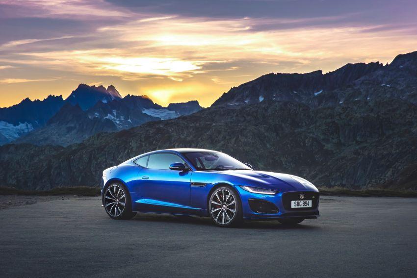 2020 Jaguar F-Type Coupe, Convertible facelift debut – 5.0L V8 RWD returns, improved tech; fr RM292k in UK Image #1055263
