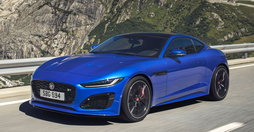 2020 Jaguar F-Type Coupe, Convertible facelift debut – 5.0L V8 RWD returns, improved tech; fr RM292k in UK Image #1055266