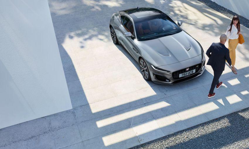 2020 Jaguar F-Type Coupe, Convertible facelift debut – 5.0L V8 RWD returns, improved tech; fr RM292k in UK Image #1055268